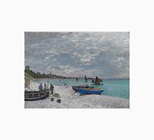 Claude Monet - The Beach at Sainte-Adresse (1867) T-Shirt