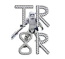 TR-8R Stormtrooper Photographic Print