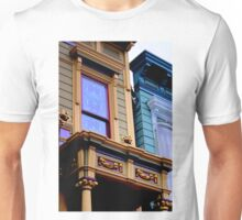 Grand Dame With Old Blue Unisex T-Shirt