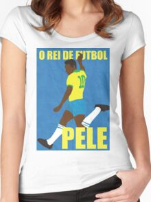 Pele Women's Fitted Scoop T-Shirt