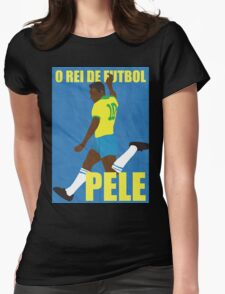 Pele Womens Fitted T-Shirt