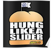 Hung Like A Slider Poster