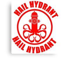 Hail Hydrant  Canvas Print