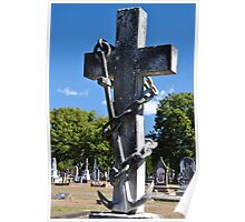 Grave Stone 4 Poster