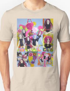 Felt Play Land Montage Unisex T-Shirt