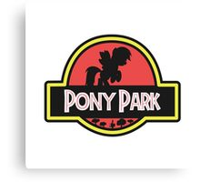 Pony Park Canvas Print