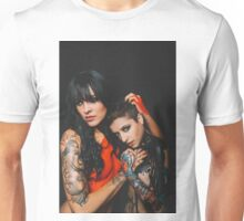 Latex Tattoo Nude Unisex T-Shirt