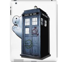 baymax police box iPad Case/Skin