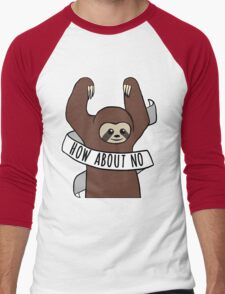 "Feminist Sloth ""How About No"" T-Shirt"