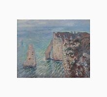 Claude Monet - The Rock Needle and the Porte d'Aval (1886) T-Shirt