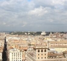 View Over Rome, Italy by Mythos57