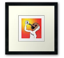 Mr. Coffee Framed Print