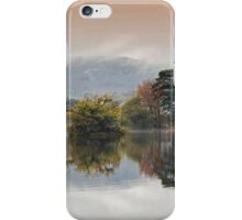 Rydal Water Autumn Mist iPhone Case/Skin