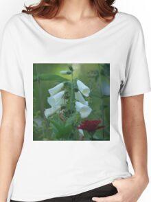 White Foxglove Women's Relaxed Fit T-Shirt