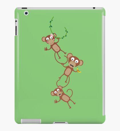monkey chain iPad Case/Skin