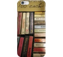 Tapes $1.00 iPhone Case/Skin
