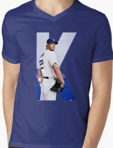 K is for Mens V-Neck T-Shirt