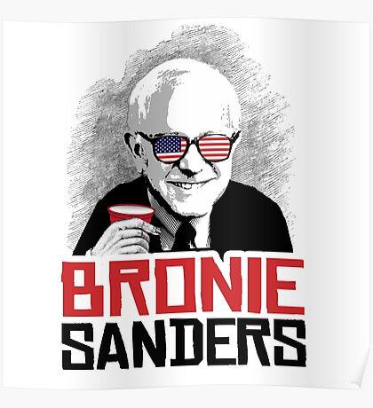 BRONIE SANDERS Poster