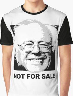 Bernie Sanders is not for sale Graphic T-Shirt