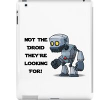 Droid Star Wars 2 iPad Case/Skin