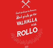 Bad girls go to Valhalla... with Rollo! Women's Fitted Scoop T-Shirt
