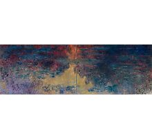 Claude Monet - The Water Lily Pond , Impressionism Photographic Print