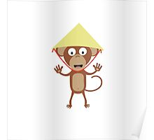 Vietnamese monkey Poster