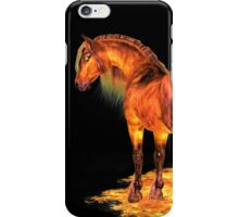 The Fire Stallion iPhone Case/Skin