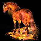 The Fire Stallion by LoneAngel