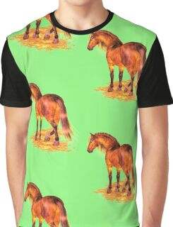 The Fire Stallion Graphic T-Shirt