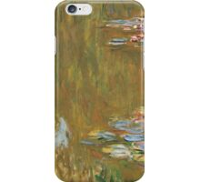 Claude Monet - The Water-lily Pond (1914-1917) iPhone Case/Skin