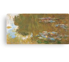 Claude Monet - The Water-lily Pond (1914-1917) Impressionism Canvas Print