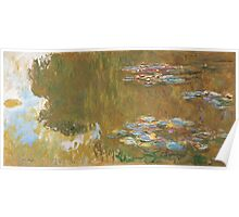 Claude Monet - The Water-lily Pond (1914-1917) Impressionism Poster
