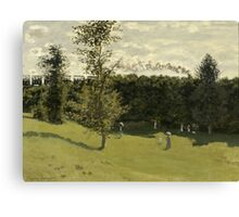 Claude Monet - Train in the Countryside (circa 1870) Canvas Print