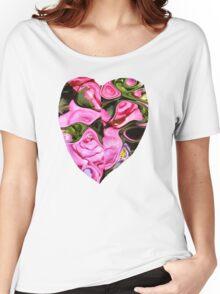 B-FLOWERS EFFECT  Women's Relaxed Fit T-Shirt