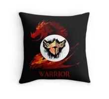 Guild Wars 2 Warrior  Throw Pillow