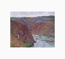 Claude Monet - Valley of the Creuse (Gray Day) (1889) T-Shirt