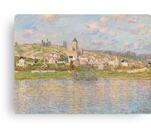 Claude Monet - Vétheuil (1879) Canvas Print