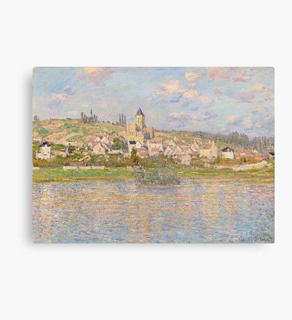 Claude Monet - Vétheuil (1879) Canvas Print