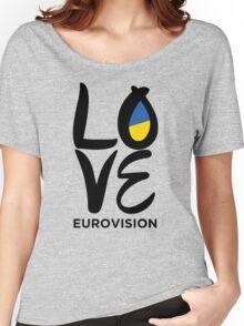 LOVE Eurovision [Ukraine] Women's Relaxed Fit T-Shirt