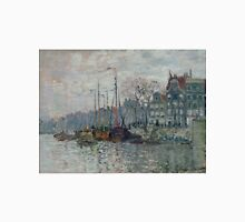 Claude Monet - View of the Prins Hendrikkade and the Kromme Waal in Amsterdam 1874 T-Shirt
