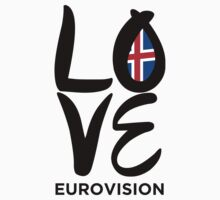 LOVE Eurovision [Iceland] One Piece - Long Sleeve