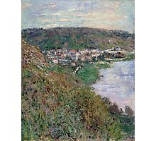 Claude Monet - View of Vetheuil (1880) Photographic Print