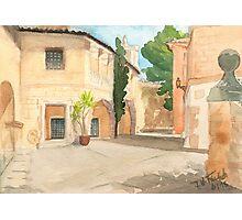 Mallorca - Pueblo Espanol - Casa Barroca d Lugo Photographic Print