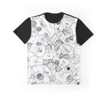 Ideas - Light Bulbs Graphic T-Shirt