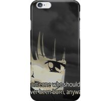 Mistake iPhone Case/Skin