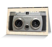Belplasca Stereo Camera Greeting Card