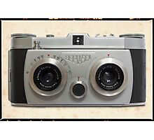 Belplasca Stereo Camera Photographic Print