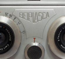 Belplasca Stereo Camera Sticker