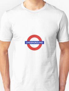 London Underground Tube Station  Unisex T-Shirt